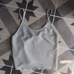 Sparkly crop top from UO